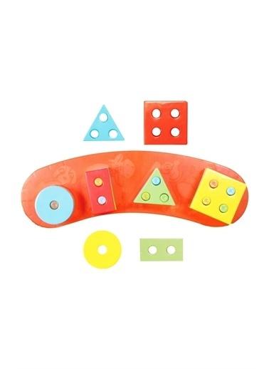 Furkan Toys Furkan Toys Geometrik Şekiller Eğitici ve Geliştirici Oyuncak Renkli